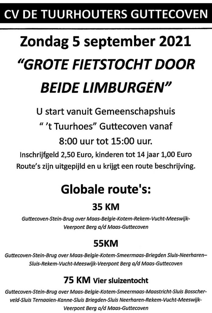 Fietstocht Tuurhouters 2021